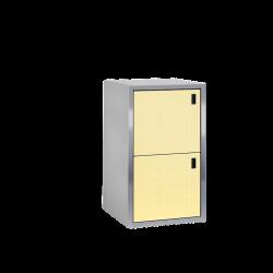 Paketkasten / Depotschrank SILENT 241 mit PAKETIN-Modul (zwei 260-l-Fächer)