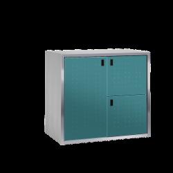 Paketkasten / Depotschrank SILENT 242 mit PAKETIN-Modul (ein 540-l-Fach, zwei 260-l-Fächer)