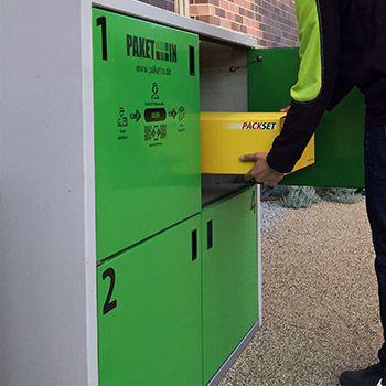 Paketboxen mit PAKETIN