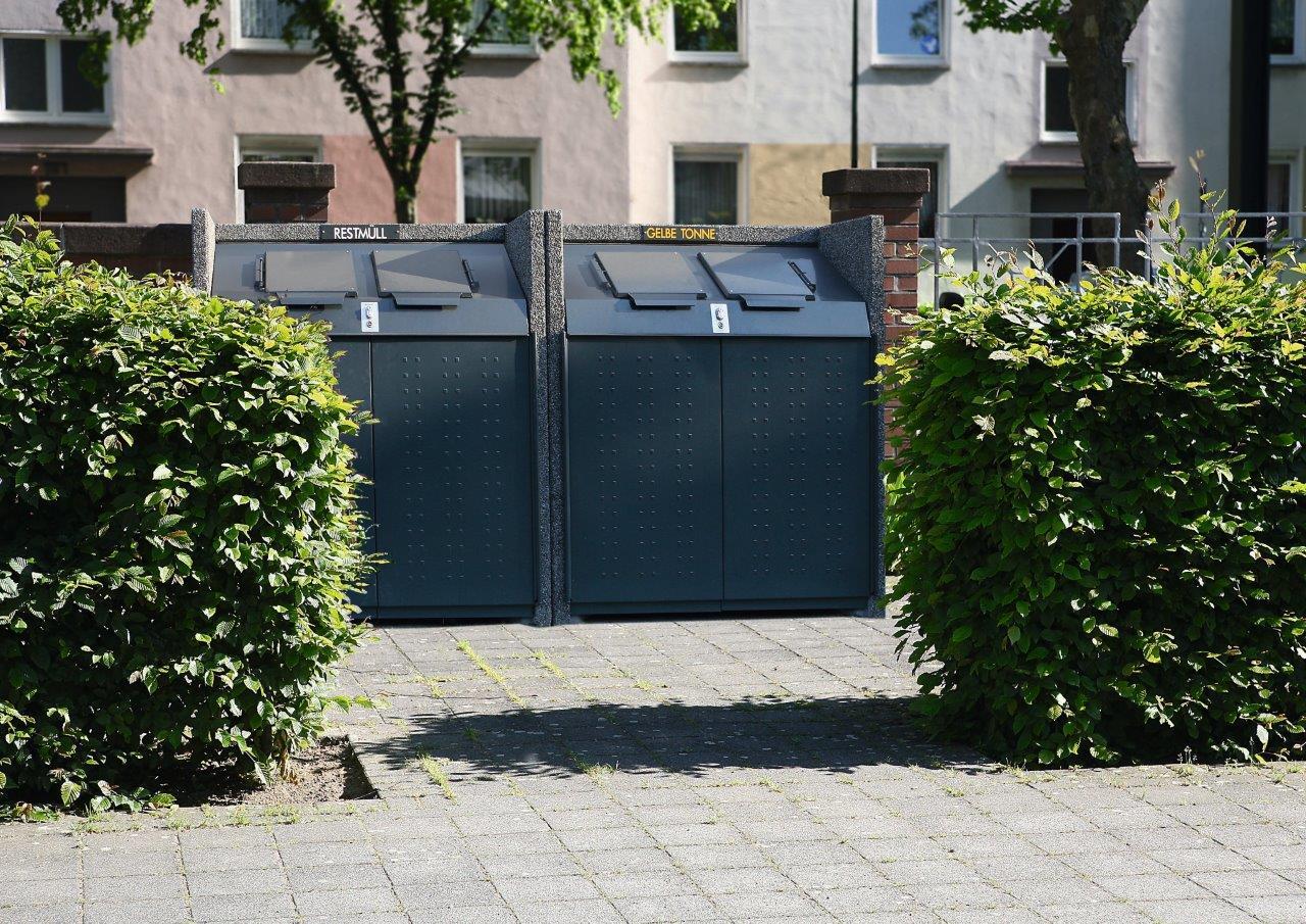Mülltonnenboxen von Paul Wolff - perfektes Design für die Stadt