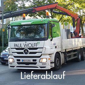 Lieferablauf Paul Wolff Shop